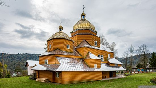Church of the Assumption of the Holy Virgin in Topilnytsya, Lviv Oblast, Ukraine, photo 6