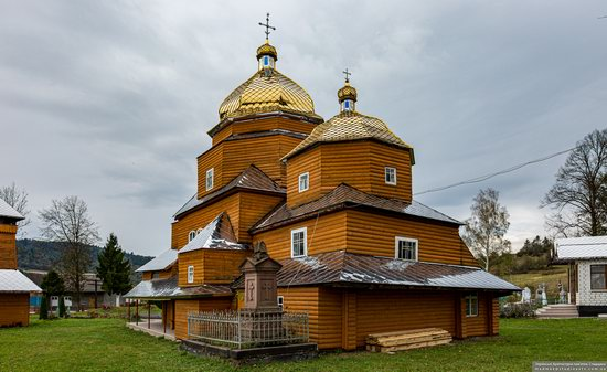 Church of the Assumption of the Holy Virgin in Topilnytsya, Lviv Oblast, Ukraine, photo 7
