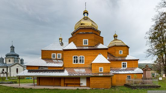 Church of the Assumption of the Holy Virgin in Topilnytsya, Lviv Oblast, Ukraine, photo 8