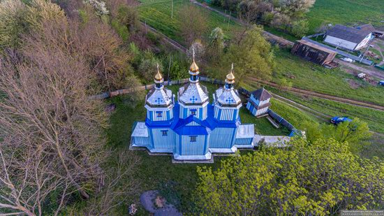 Church of St. Michael the Archangel in Telelyntsi, Vinnytsia Oblast, Ukraine, photo 12