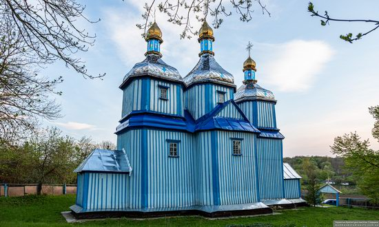 Church of St. Michael the Archangel in Telelyntsi, Vinnytsia Oblast, Ukraine, photo 4