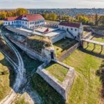 Zbarazh Castle – the view from above