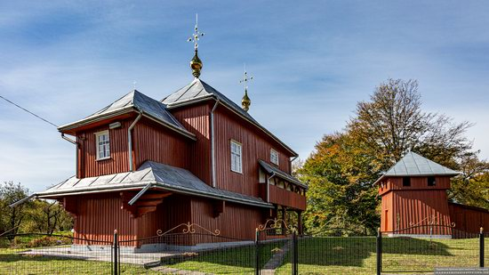 Church of the Holy Prophet Elijah in Monastyr-Lishnyansky, Lviv Oblast, Ukraine, photo 1