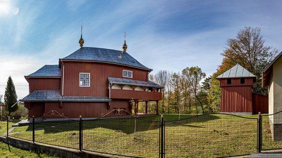 Church of the Holy Prophet Elijah in Monastyr-Lishnyansky, Lviv Oblast, Ukraine, photo 2
