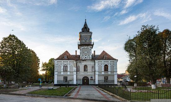 The Town Hall of Dobromyl, Lviv Oblast, Ukraine, photo 1