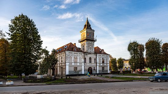 The Town Hall of Dobromyl, Lviv Oblast, Ukraine, photo 4