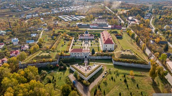 Zolochiv Castle, Ukraine from above, photo 1