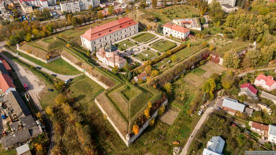 Zolochiv Castle, Ukraine from above, photo 10