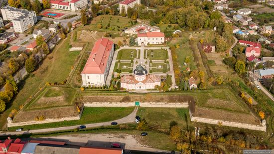 Zolochiv Castle, Ukraine from above, photo 11