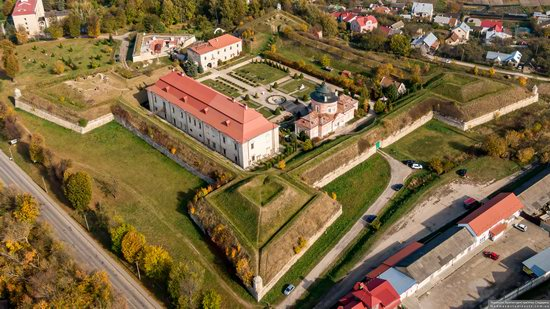 Zolochiv Castle, Ukraine from above, photo 12