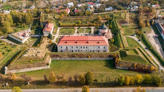 Zolochiv Castle, Ukraine from above, photo 13