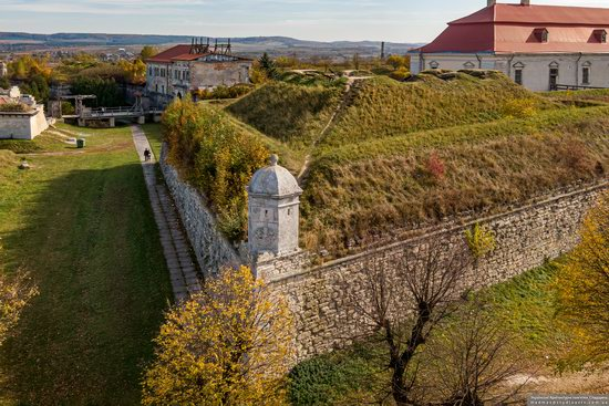 Zolochiv Castle, Ukraine from above, photo 14