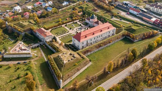 Zolochiv Castle, Ukraine from above, photo 15