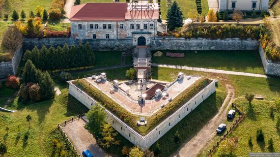 Zolochiv Castle, Ukraine from above, photo 2