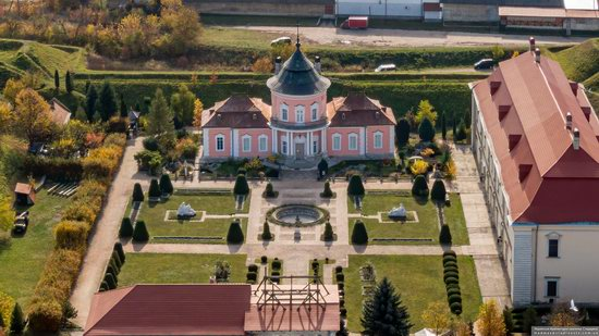 Zolochiv Castle, Ukraine from above, photo 3