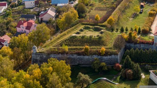 Zolochiv Castle, Ukraine from above, photo 4