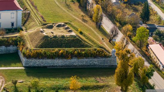 Zolochiv Castle, Ukraine from above, photo 5