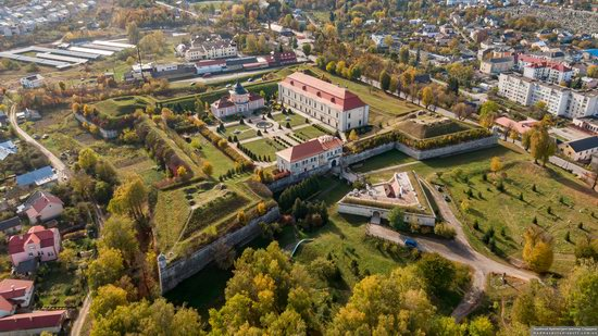 Zolochiv Castle, Ukraine from above, photo 6