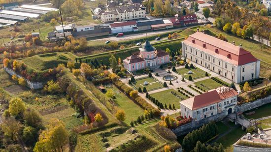 Zolochiv Castle, Ukraine from above, photo 7