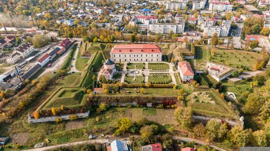 Zolochiv Castle, Ukraine from above, photo 8