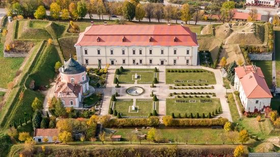 Zolochiv Castle, Ukraine from above, photo 9