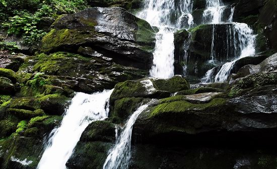 Shypit waterfall, Ukraine