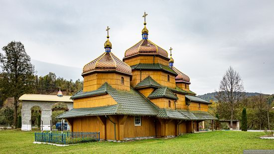 Church of St. Nicholas in Turje, Lviv Oblast, Ukraine, photo 6
