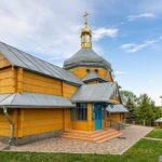 Wooden Church of the Transfiguration in Pidhaitsi