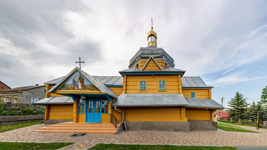 Wooden Church of the Transfiguration in Pidhaitsi, Ternopil Oblast, Ukraine, photo 3