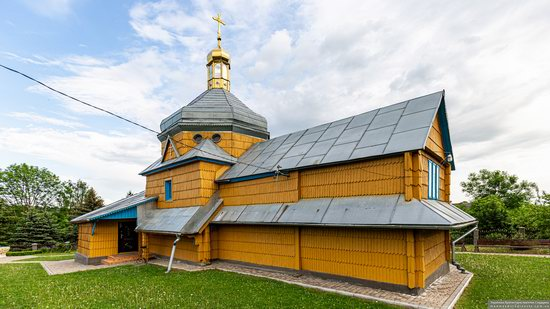 Wooden Church of the Transfiguration in Pidhaitsi, Ternopil Oblast, Ukraine, photo 4