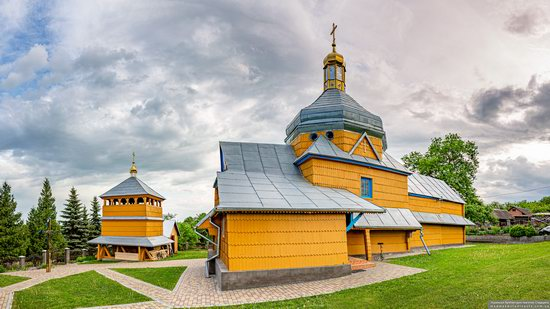 Wooden Church of the Transfiguration in Pidhaitsi, Ternopil Oblast, Ukraine, photo 6