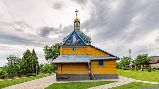 Wooden Church of the Transfiguration in Pidhaitsi, Ternopil Oblast, Ukraine, photo 7