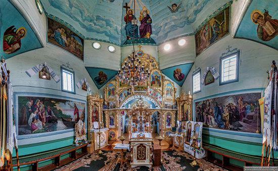 Wooden Church of the Transfiguration in Pidhaitsi, Ternopil Oblast, Ukraine, photo 8