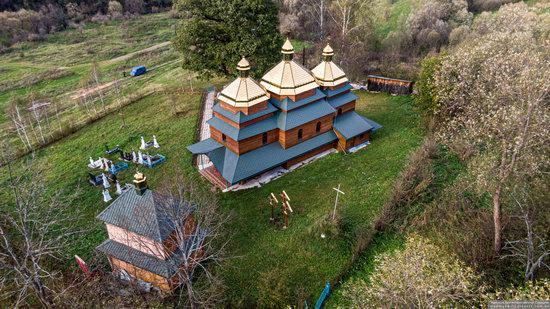 Church of the St. Archangel Michael in Hvozdets, Lviv Oblast, Ukraine, photo 12