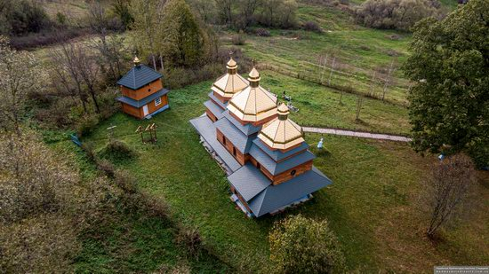 Church of the St. Archangel Michael in Hvozdets, Lviv Oblast, Ukraine, photo 14