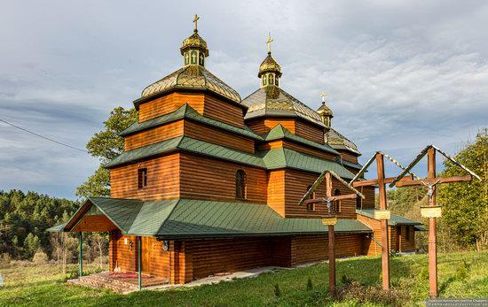 Church of the St. Archangel Michael in Hvozdets, Lviv Oblast, Ukraine, photo 8