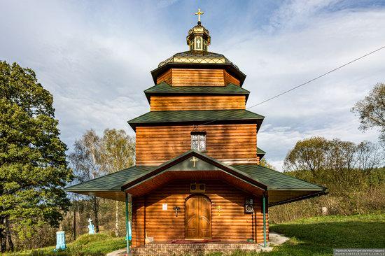Church of the St. Archangel Michael in Hvozdets, Lviv Oblast, Ukraine, photo 9