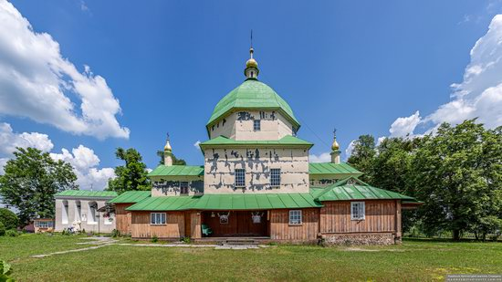 Church of the Exaltation of the Holy Cross in Volsvyn, Ukraine, photo 4