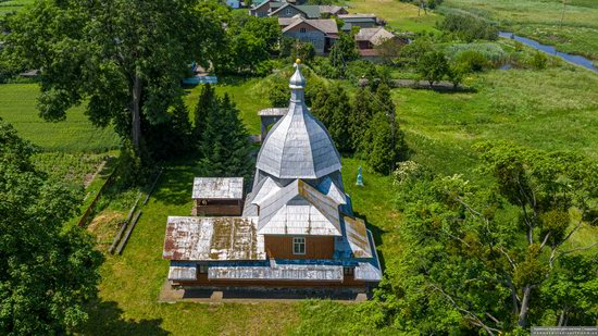 Church of the Transfiguration in Volytsya, Lviv Oblast, Ukraine, photo 13