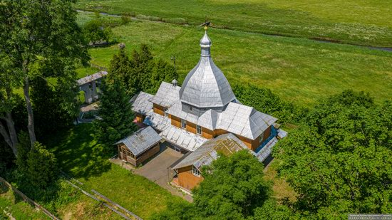 Church of the Transfiguration in Volytsya, Lviv Oblast, Ukraine, photo 14
