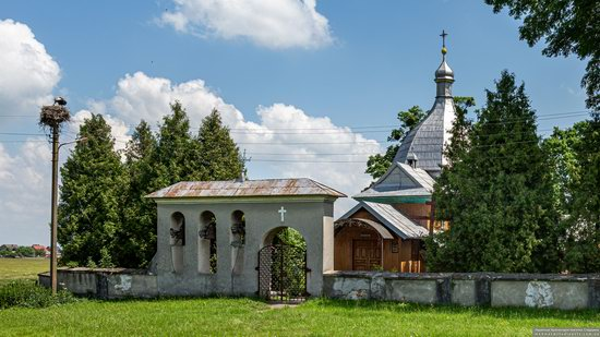 Church of the Transfiguration in Volytsya, Lviv Oblast, Ukraine, photo 2