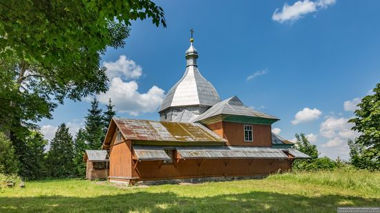 Church of the Transfiguration in Volytsya, Lviv Oblast, Ukraine, photo 6