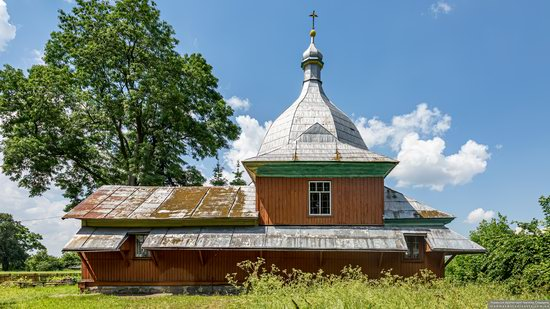 Church of the Transfiguration in Volytsya, Lviv Oblast, Ukraine, photo 7