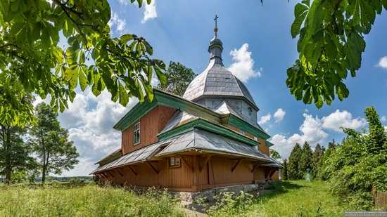 Church of the Transfiguration in Volytsya, Lviv Oblast, Ukraine, photo 8