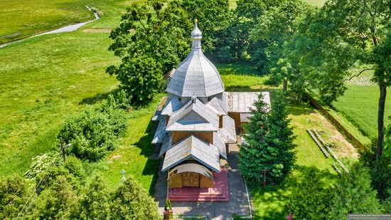 Church of the Transfiguration in Volytsya, Lviv Oblast, Ukraine, photo 9