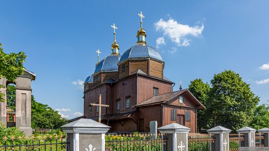Church of the Resurrection in Zhuzhelyany, Lviv Oblast, Ukraine, photo 1