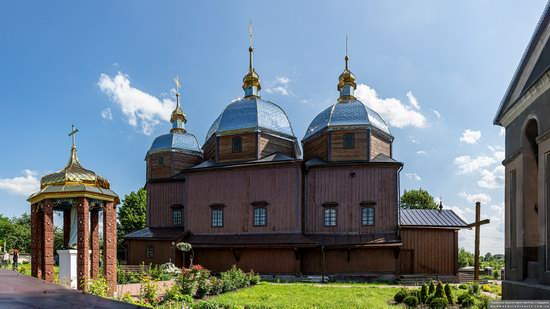Church of the Resurrection in Zhuzhelyany, Lviv Oblast, Ukraine, photo 2