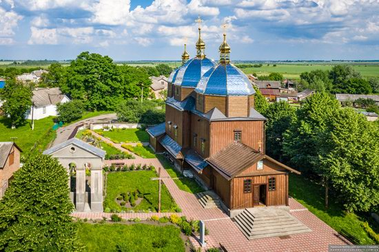 Church of the Resurrection in Zhuzhelyany, Lviv Oblast, Ukraine, photo 8
