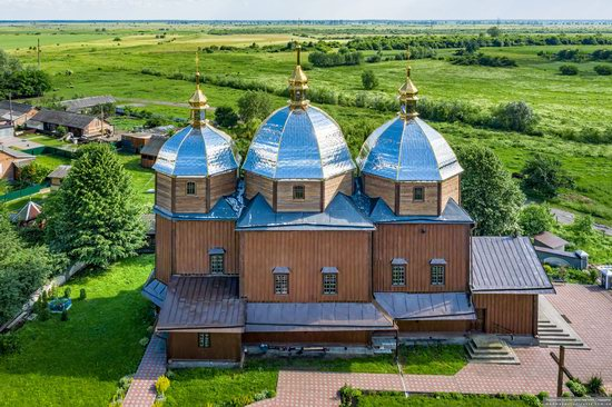 Church of the Resurrection in Zhuzhelyany, Lviv Oblast, Ukraine, photo 9