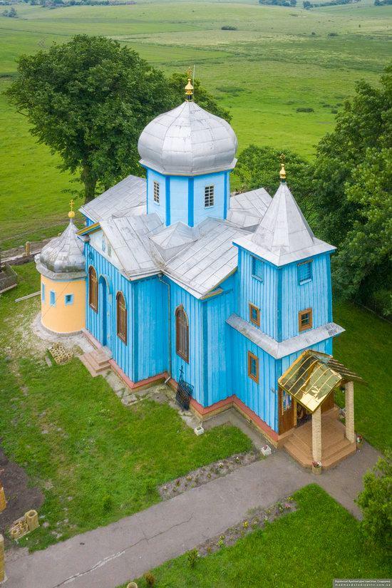 Church of the Holy Trinity in Shpykolosy, Lviv Oblast, Ukraine, photo 10